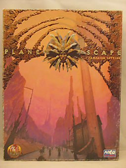 Planescape Campaign Setting/Books and 4 Poster Maps
