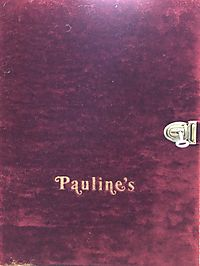 Pauline's, Signed Limited Edition