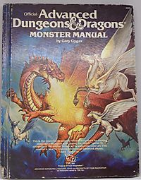 Official Advanced Dungeons & Dragons Monster Manual: An Alphabetical Compendium of all the Monsters Found in AD&D, Including Attacks, Damage, Special