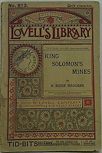 King Solomon's Mines (Lovell's Library No. 813)
