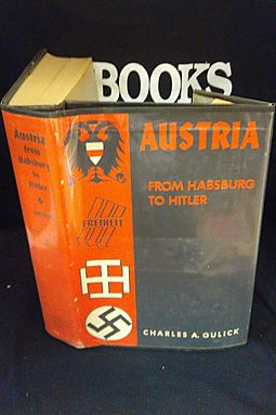 Austria from Habsburg to Hitler Volume !