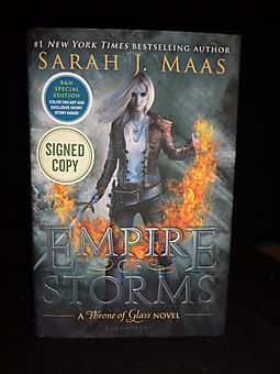 Empire of Storms, A Throne of Glass Novel