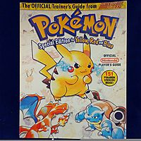 Pokemon Trainer Guide Yellow, Red and Blue (nintendo pokemon special edition for yellow, red and blue) (nintendo pokemon special edition for yellow, r