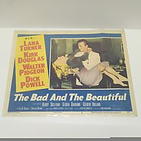 The Bad and the Beautiful movie lobby card 1952