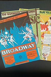 Hot-Footin' It and other sheet music