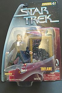 Star Trek Warp Factor Series 4 - Trelane Figure