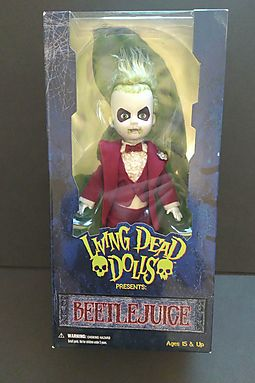 Living Dead Dolls Beetlejuice - Formal Red Tuxedo