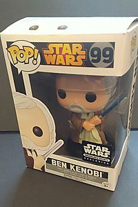 Funko POP! Star Wars Ben Obi-Wan Kenobi Smugglers Bounty Exclusive #99 Vinyl