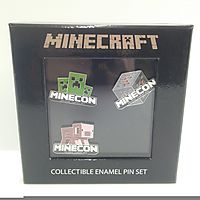 Minecraft Collectible Enamel Pin Set