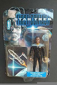Lt. Cmdr. Geordi LaForge 6 inch Action Figure