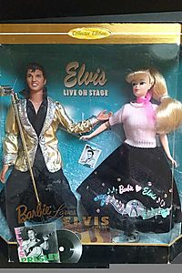 Barbie Loves Elvis Collector Edition Gift Set (1996)