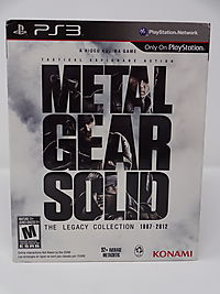 Metal Gear Solid: The Legacy Collection 1987-2012 (PS3)