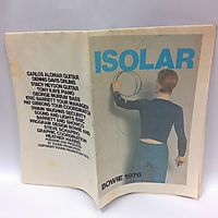 Isolar World Tour Program (Bowie 1976)