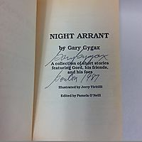 Night Arrant (signed)